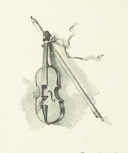 fiddle drawing Brit Lib